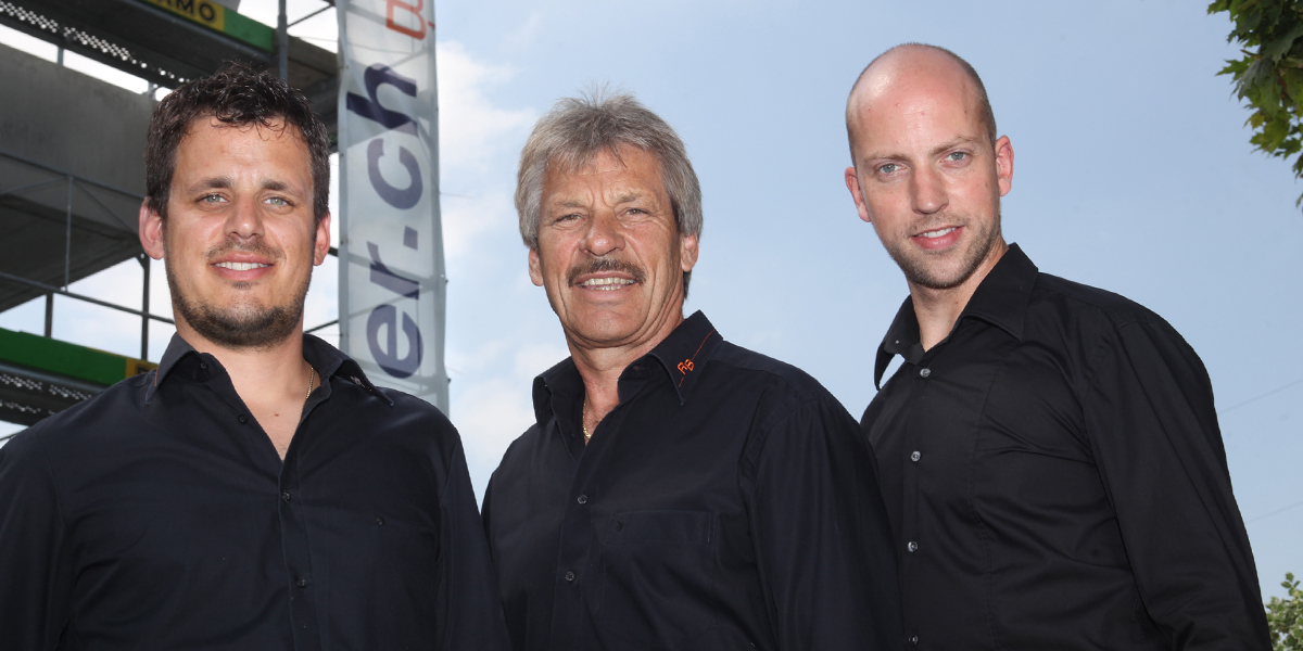 Remo Bischofberger, Ricardo Bischofberger, Reto Gut